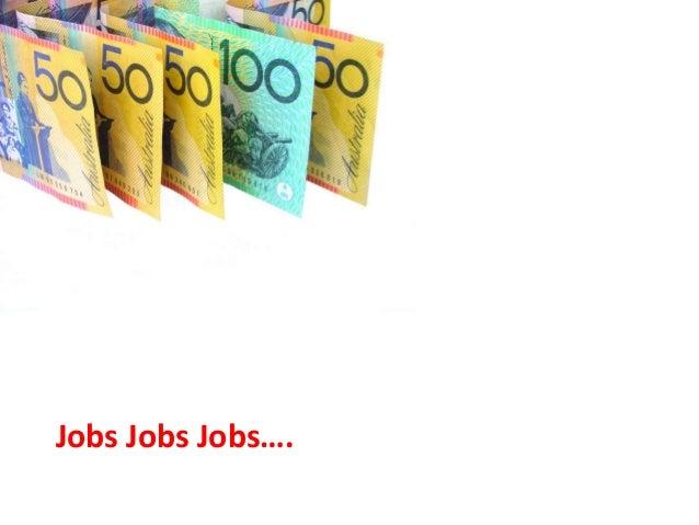 Jobs Jobs Jobs….