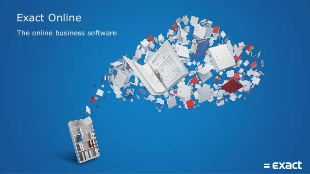 The online business software Exact Online