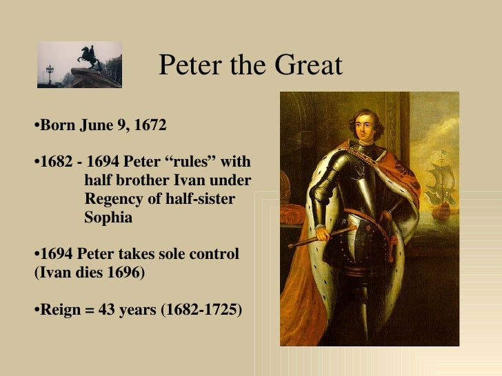 Peter the Great Slide 2