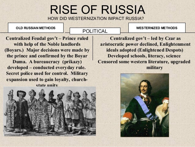 """thr """"westernizing"""" of russia To westernize as russia or not submitted 3 so my question is, is it worth westernizing i know it can be a hard process and i have never done it before."""