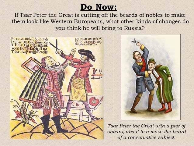 the history of the westernization of traditional society in russia