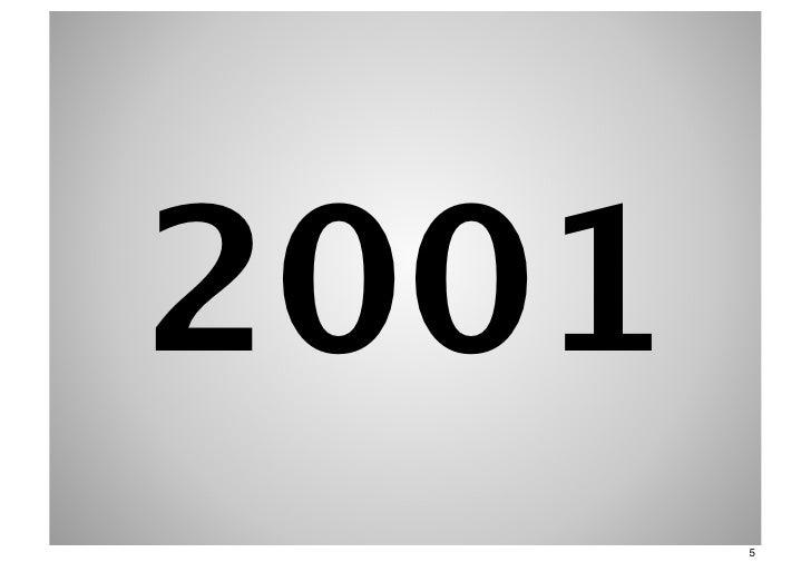 2001       5