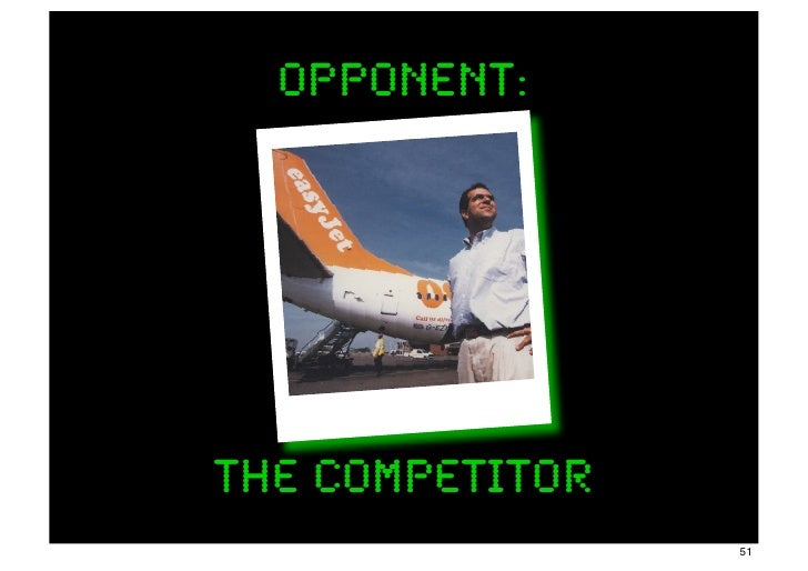 opponent:The Competitor                 51