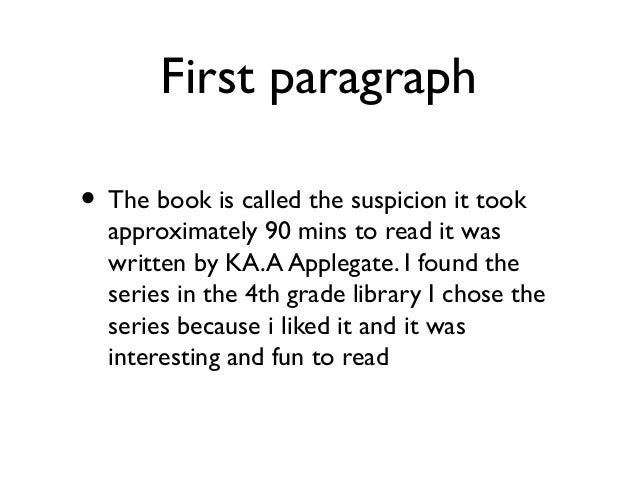 3 paragraph book report If you need help writing an essay on a book or less to a modern day book report the second paragraph with a quote from the book or something that really.
