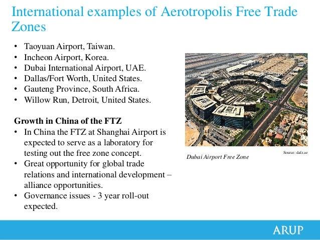 Facilitating Aerotropolis Growth Through Enterprise And Free Trade Zo