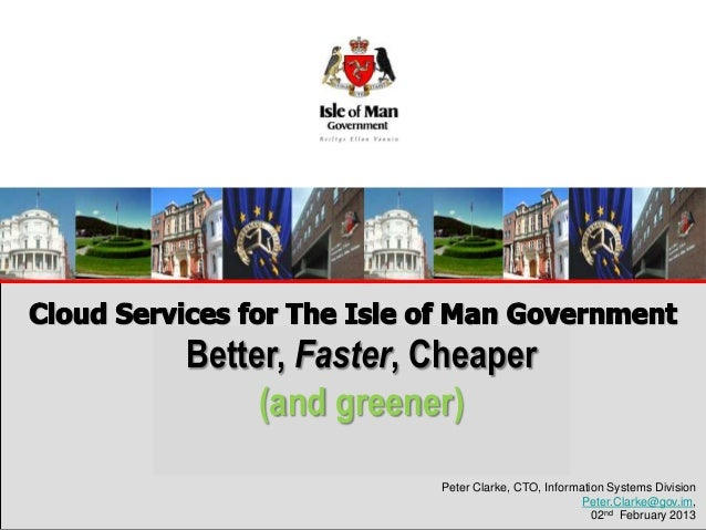 Better, Faster, CheaperEnhanced Public Service Delivery      (and greener)   Through Transformation                     Pe...