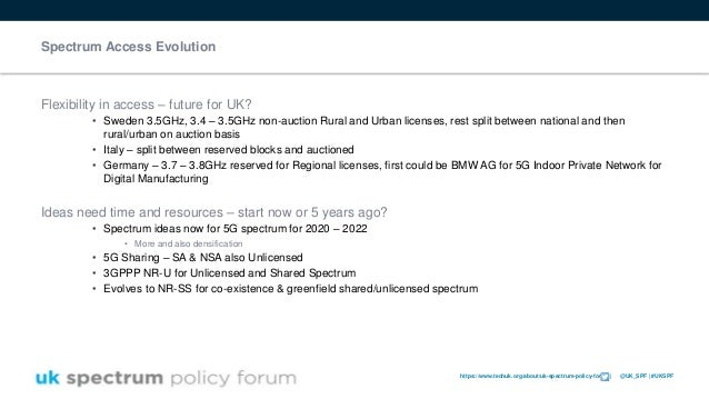 https://www.techuk.org/about/uk-spectrum-policy-forum | @UK_SPF | #UKSPF Spectrum Access Evolution Flexibility in access –...