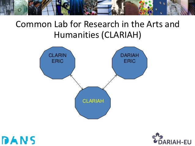 CLARIAH.nl Mission• Create a virtual 'Common Lab' facility for  eHumanities research.• Provide integrated access to unprec...