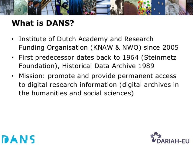 Our main activities and services• Encourage researchers to self-archive and reuse data by  means of our Electronic Archivi...
