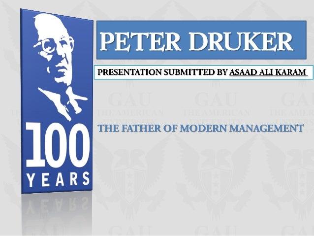 PETER DRUKER
