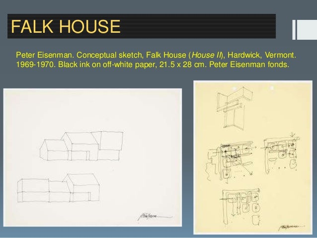 Eisenman house projects