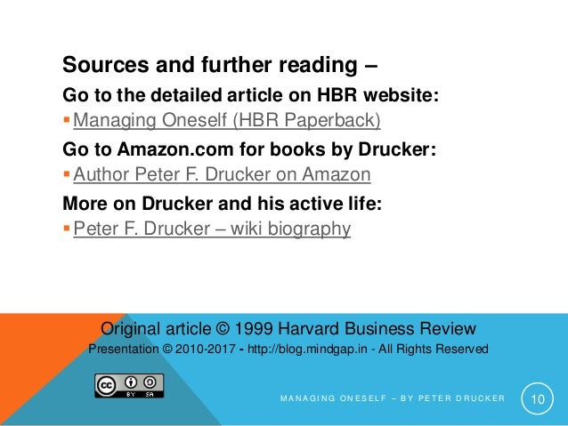 management genius peter f drucker Peter drucker is known as the father of management on the 100th anniversary of his birth, a look at his many contributions known widely as the father of management, peter drucker formulated many concepts about business that we now take for granted.