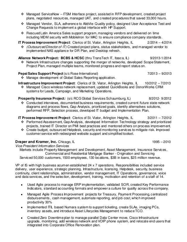 2 - It Director Resume