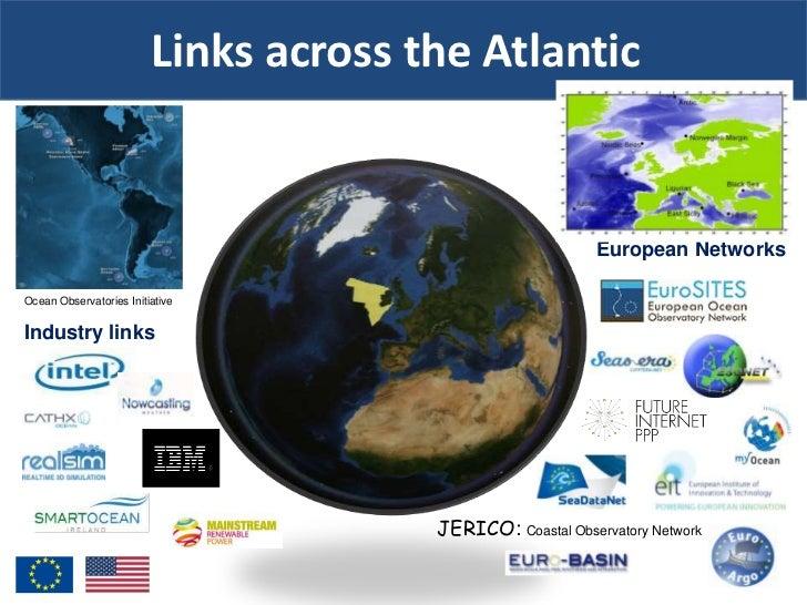 Links across the Atlantic                                                            European NetworksOcean Observatories ...