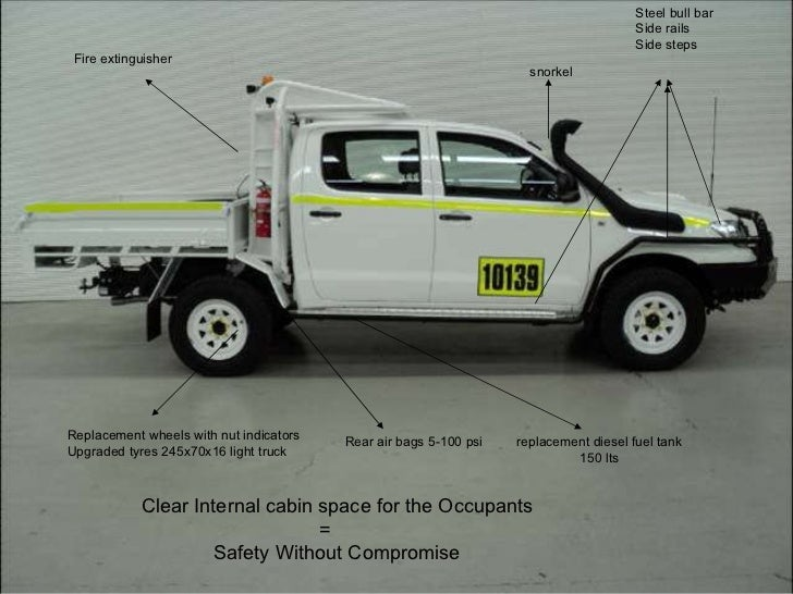 Hilux Rollover Protection System