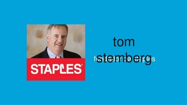fundador da staples tom stemberg