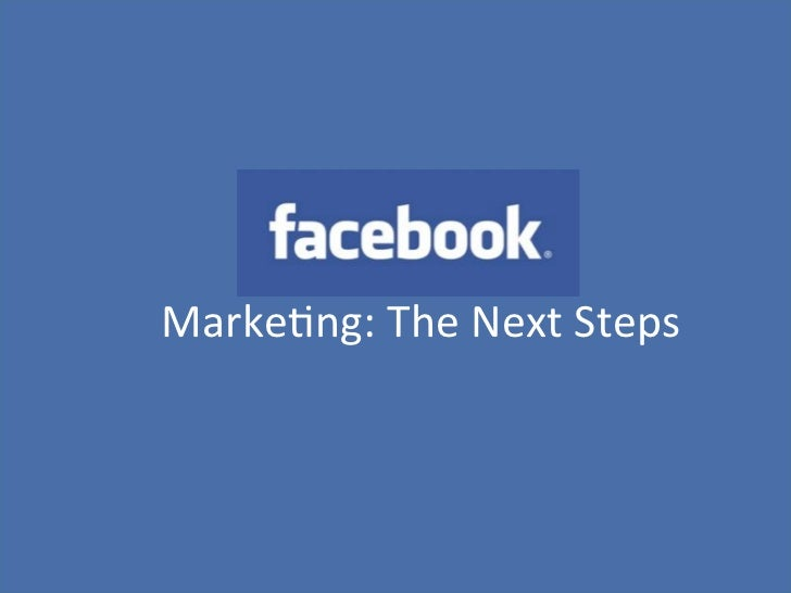 """Content analyse• x""""    Marke(ng:""""The""""Next""""Steps"""""""