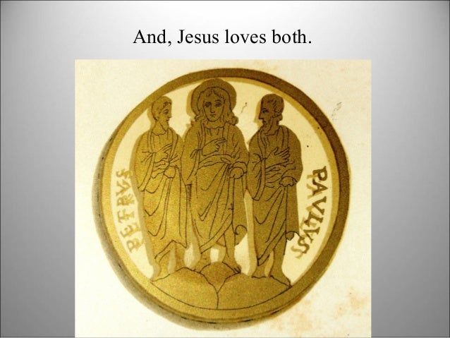 And, Jesus loves both.