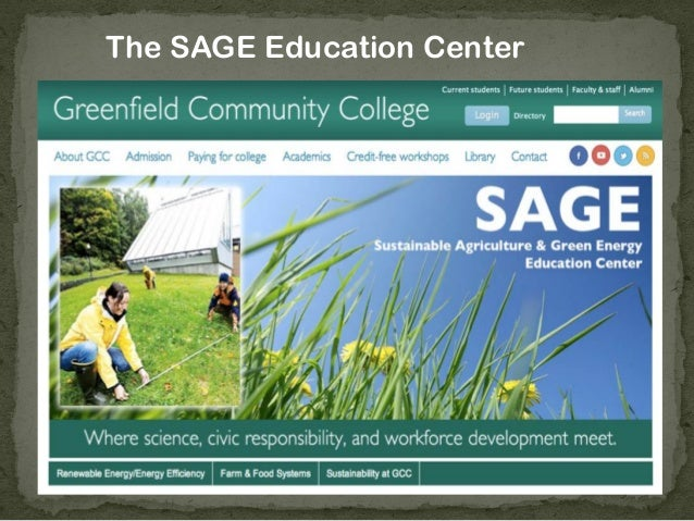 The SAGE Education Center