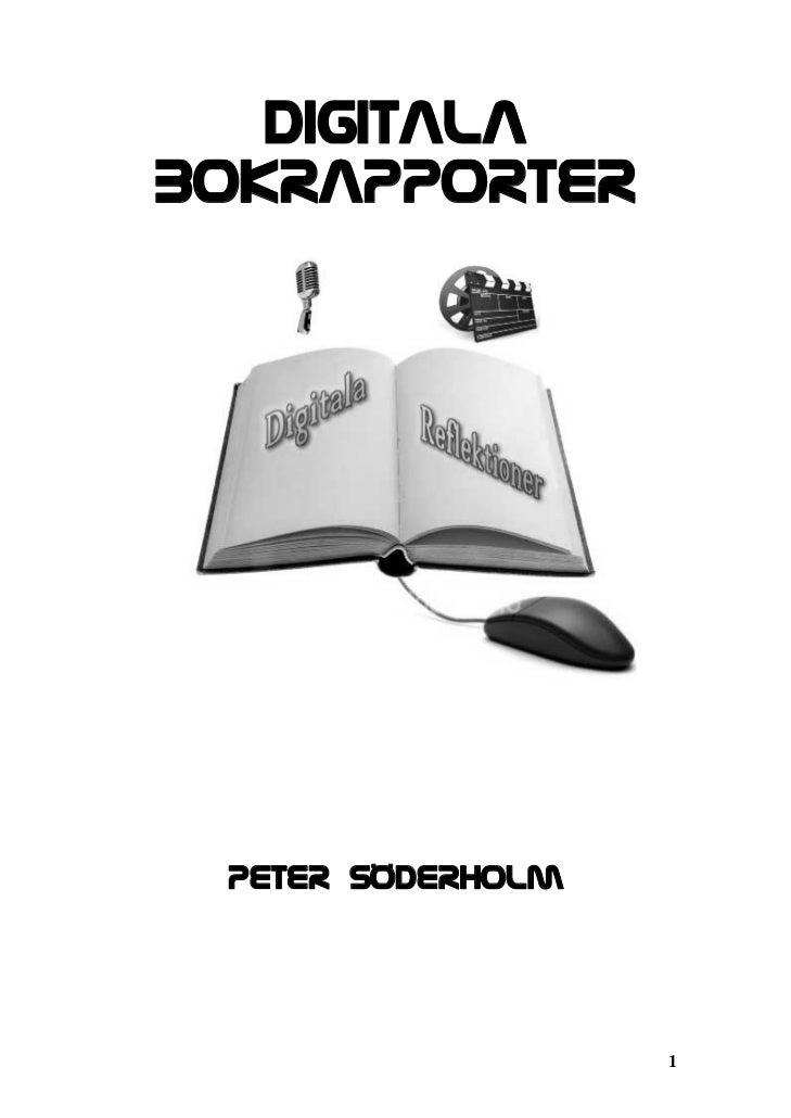 Digitalabokrapporter Peter sÖderholm                   1
