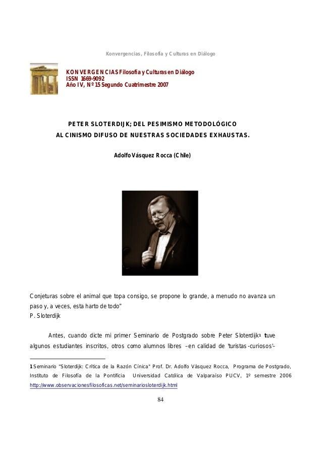 Konvergencias, Filosofía y Culturas en Diálogo                KONVERGENCIAS Filosofía y Culturas en Diálogo               ...