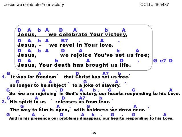 victory in jesus lyrics and chords pdf