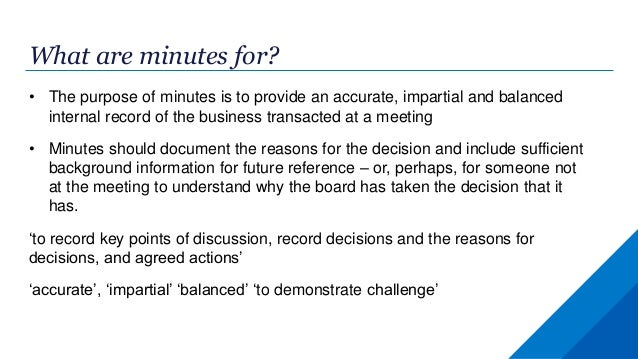 taking minutes at a board meeting