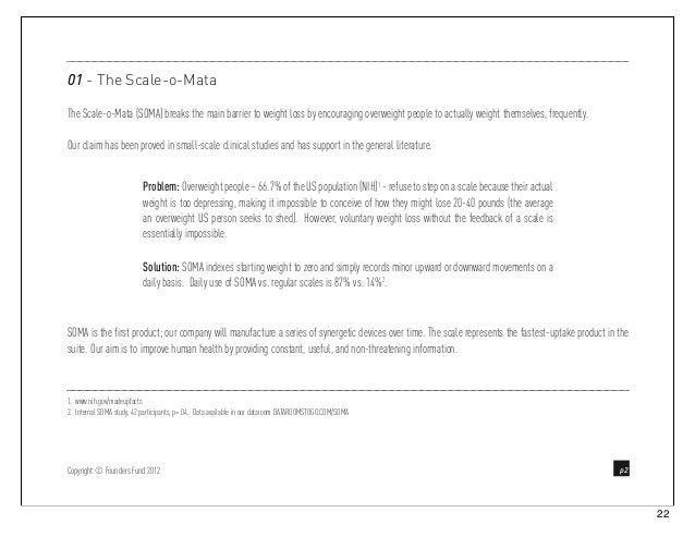 Peter Thiel's Venture Capital Pitch Deck Template Slide 2
