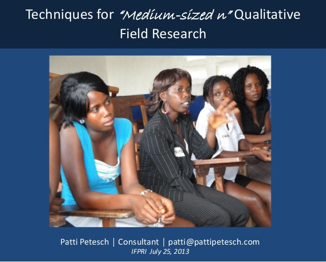 qualitative field research Qualitative research is a type of social science research that uses non-numerical data to interpret and analyze peoples' experiences and actions.
