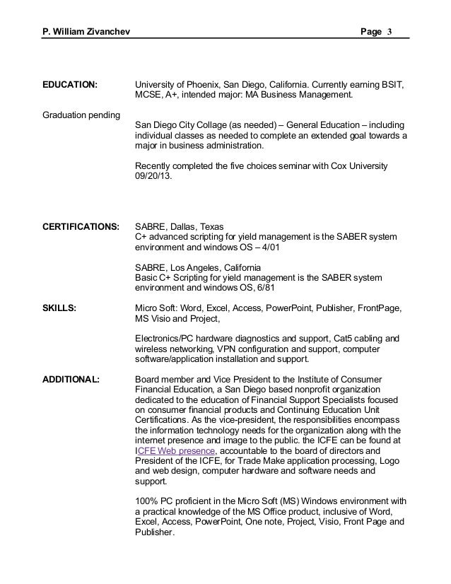Pending bar admission resume