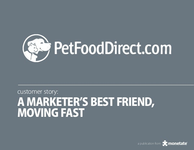 customer story: A marketer's best friend, moving fast a publication from