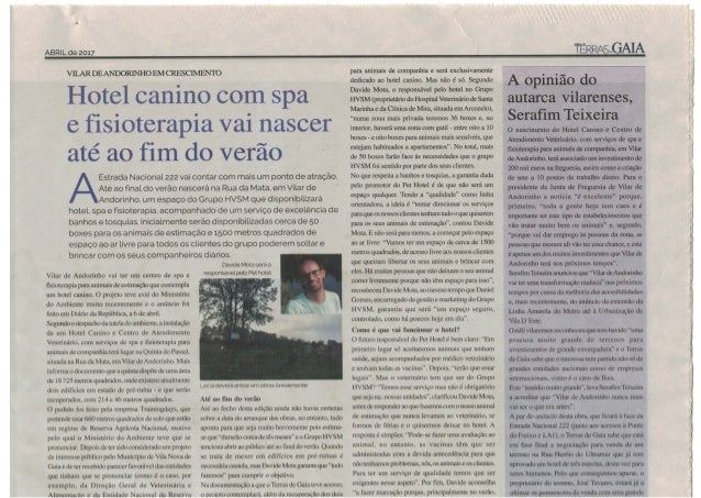 Hotel Canino com Spa e Fisioterapia / Pet Hotel Vila Nova de Gaia