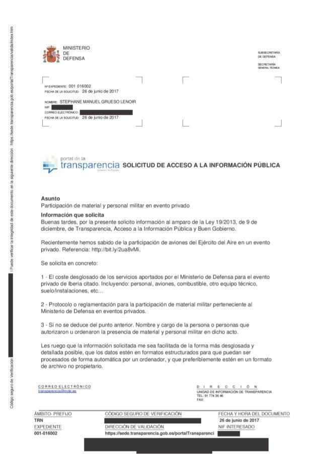 Muchas gracias por su atención. salud! Stéphane M. Grueso Dirección de contacto El modo de notificación es: Sede electróni...