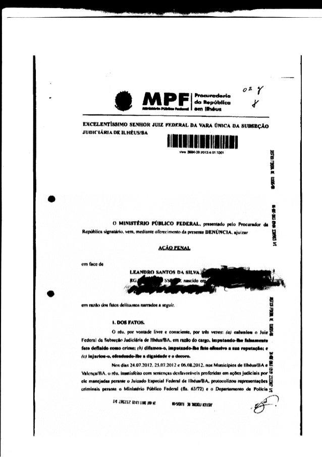 WM't- - PODER JUDICIARIO .o*J_ï;J,ff[ï?,:Hh*^,. oFícto No GJF-O Ft-2014rcA0g4 Ao Senhor Leandro Santos da Silva 55, Valenç...