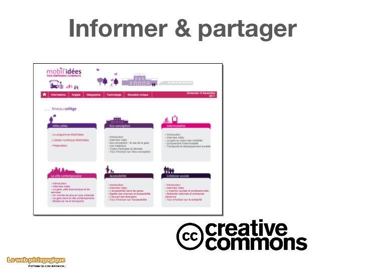 Informer & partager