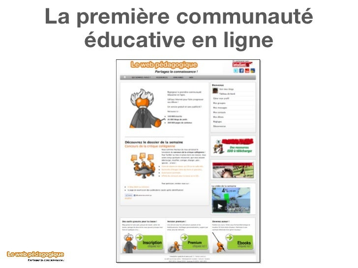 La première communauté éducative en ligne