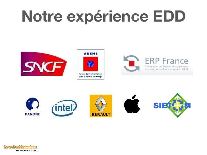 Notre expérience EDD