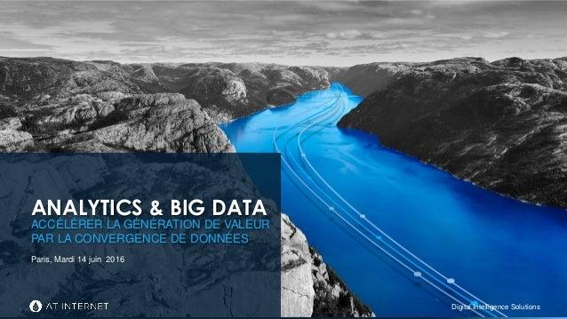 Digital Intelligence SolutionsDigital Intelligence Solutions ACCÉLÉRER LA GÉNÉRATION DE VALEUR PAR LA CONVERGENCE DE DONNÉ...