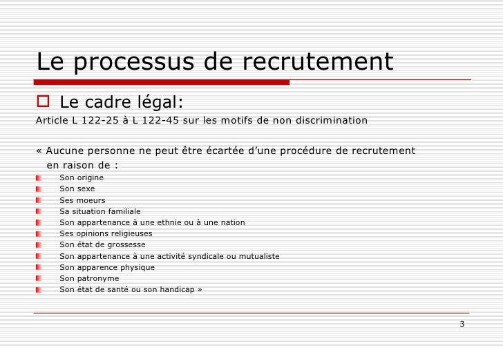Comment recruter juste ? (1ère partie) Slide 3