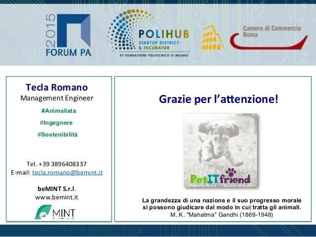 Tecla  Romano   Management  Engineer                     Tel.  +39  3896408337   E-‐mail:  te...