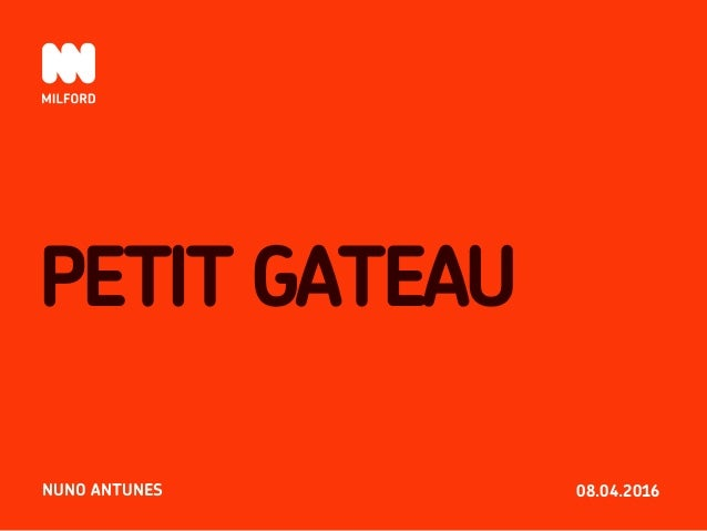 08.04.2016 PETIT GATEAU NUNO ANTUNES