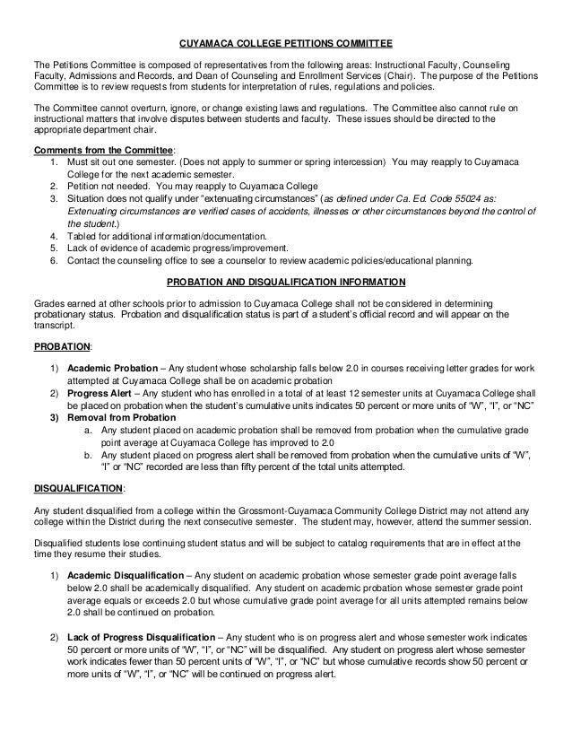 College readmission essay