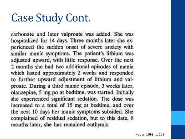 bipolar disorder case report