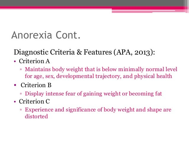 issue of anorexia nervosa Anorexia nervosa and bulimia nervosa are serious psychiatric illnesses related to disordered eating and distorted body images  issue 1, pages 30–37 .