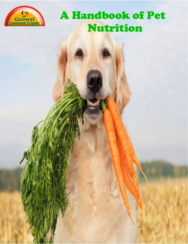 A Handbook of Pet Nutrition
