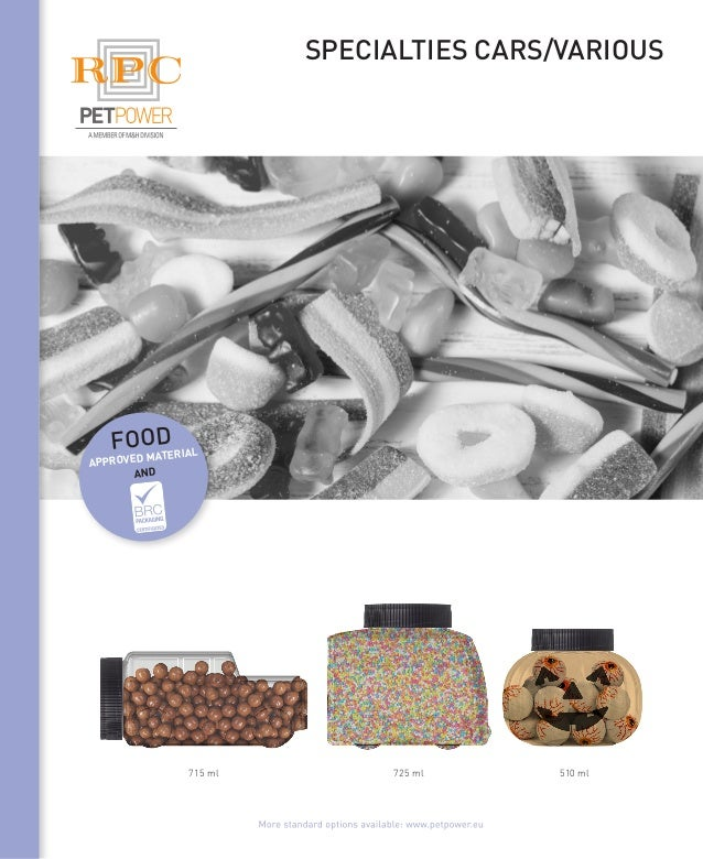 Specialties cars/various 510 ml725 ml715 ml food approved material and