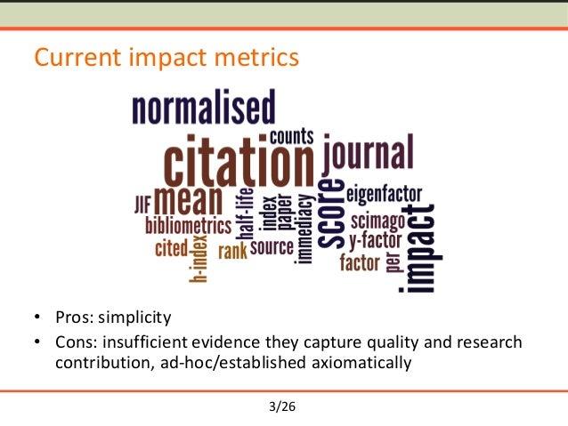 Semantometrics: Towards Fulltext-based Research Evaluation Slide 3