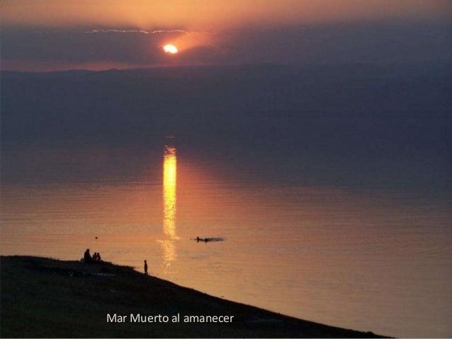 Mar Muerto al amanecer