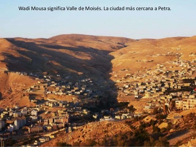 Wadi Mousa y Petra