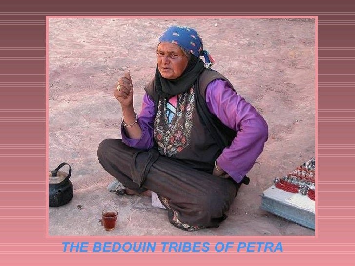THE BEDOUIN TRIBES OF PETRA
